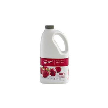 Torani Real Fuit Smoothie Strawberry Mix, 64 oz (01-0495) Category: Smoothie Mixes