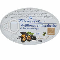 Spanish Frinsa Mussels in Escabenche Sauce, 3.9oz, Pack of 12