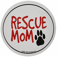 Prismatix Decal Cat and Dog Magnets, Rescue Mom