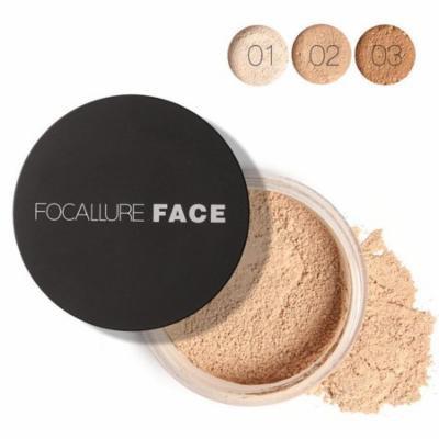 Women Face Cosmetic Beauty Pro Powder Loose Powder Waterproof Skin Finish Powder HFON