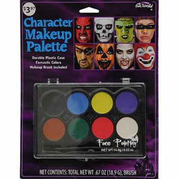 Halloween 8-color Hardcase Makeup Pallet by Fun World