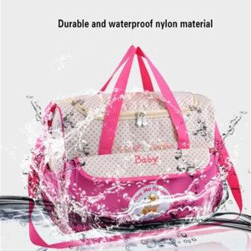INSULAR Cartoon Stroller Mother Travel Baby Diaper Bag Large Capacity Bag 8186