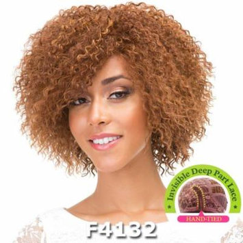 Janet Collection Super Flow Deep Part Lace Wig - MARGARET (Plum Red)