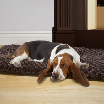 Dog Bed, Large Cushion Pillow Pet Bed - Chocolate