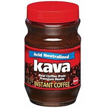 Kava Instant Coffee, 8 Ounce Glass Jar