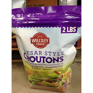 Wellsley Farms caesar croutons 32 oz (pack of 2)