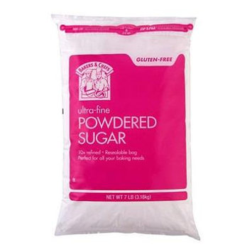 Bakers & Chefs Powdered Sugar (7 lb.) (pack of 6)