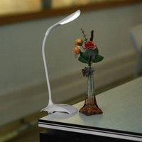 Reading The Lamp Dimmable Clip-On Usb Rechargeable Touch Led Reading Light Desk Table Lamp