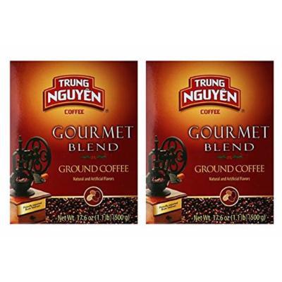 Trung Nguyen Gourmet Blend- 17.6 oz(500g) - (Pack of 2)
