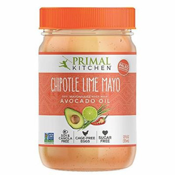 Primal Kitchen Avocado Oil Mayo / Mayonnaise Chipotle Lime, Paleo, Whole30 12 Oz , Pack of 3