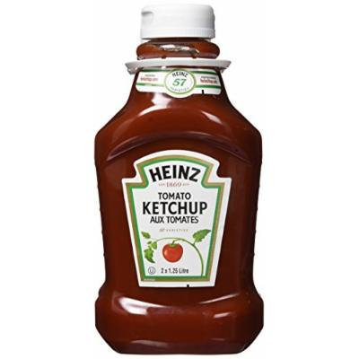 HEINZ Ketchup Fridge Fit-2 Pack, 2.5 Litres/84.56 Fluid Ounces {Imported from Canada}