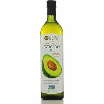 Chosen Foods Avocado Oil (1 Litter Bottle)