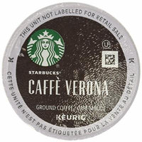 Starbucks Caffe Verona Dark Roast Ground Coffee 96 K cup (4boxes x 24 count)
