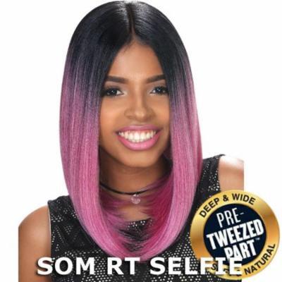 Sis Slay Pre-Tweezed Part Hair Full Wig - MARS (SOM RT SMOKEY LILAC)