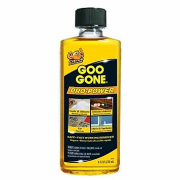 Goo Gone Pro-Power ? Surface Safe, Remover, Great Cleaner, No Harsh Odors, Can be used on tools and machinery, 8 fl oz