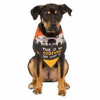 Dog Bandana Pet Costume Accessory This Is My Costume - Small/Medium