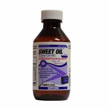 Humco 4 oz Oil - Sweet (Olive Oil, NF) 2063-94 - 1 Each