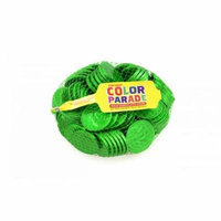 Fort Knox Milk Chocolate 1.5-inch Coins - Green Foil, 1 LB