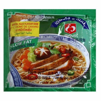 Mama Ramen Instant Noodle, Duck Flavor, 2.1 Ounce Pouch (Pack of 90)