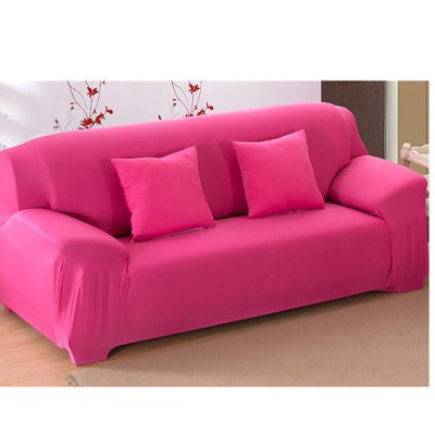 Yosoo Sofa Covers Elastic Anti Wrinkle Couch Covers, Solid Color Stylish Loveseat Sofa Cover Anti-Mite Pet Dog Cat Protector Cover Fit Many 35-90 inch Sofas