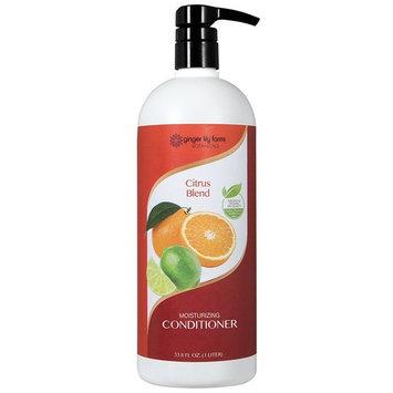 Ginger Lily Farm's Botanicals Moisturizing Conditioner, Citrus Blend Liter, 32 Ounce [Citrus Blend Liter]