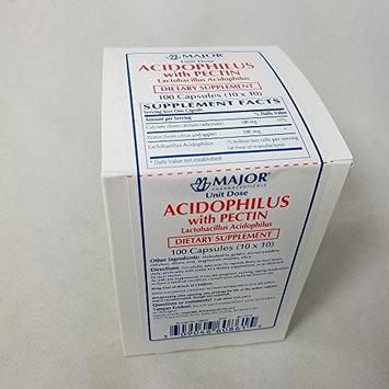 Major Acidophilus with Pectin, 100 Capsules Per Box (5 Pack)