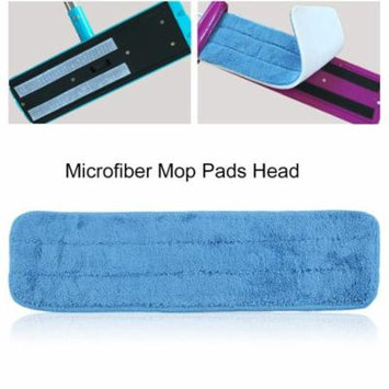 5 Pcs 40cm Washable Reusable Microfiber Spray Mop PadsReplacement Heads for Wet/Dry Mops For 15inch Flat Mop Base