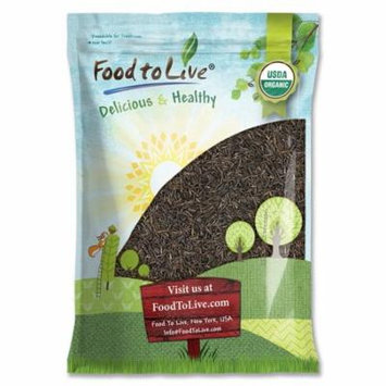 Food to Live Certified Organic Wild Rice (Non-GMO, Bulk) (20 Pounds)