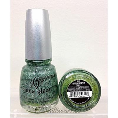 HARD TO FIND - China Glaze Kaleidoscope 0.5oz/14ml (70691 - He's Going In Circle)