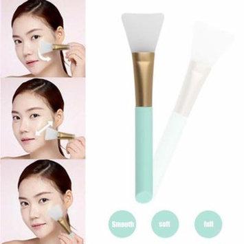 2017 New Practical Women DIY Facial Mask Make Tools Silicone Facila Beauty Makeup Blender Foundation Facial Mask Making Brush,Blue