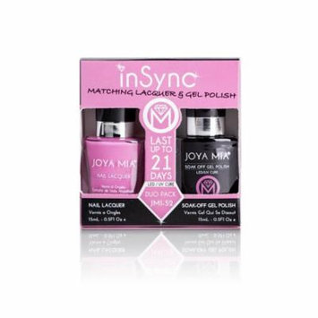 JOYA MIA® InSync® JMI-52 Perfect matching gel and nail polish Duo Set