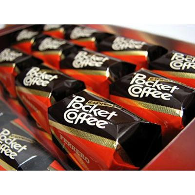 Pocket Coffee Ferrero 6-18 Piece Packs (108 Piece Case)