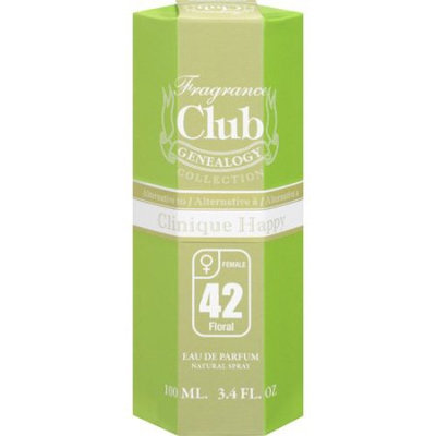 Frag Club #42 - Happy by Trend Beaute - 3.4 oz Eau de Parfum Spray for Women