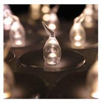 AGPtek 100 PCS Tea Light Flameless Flicker Battery Candles Warm White for Festival Decoration