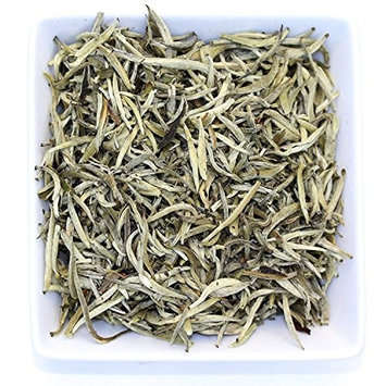 Tealyra - Imperial Yunnan Silver Needle - White Loose Leaf Tea - Organically Grown - Caffeine Level Low - 100g (3.5-ounce)