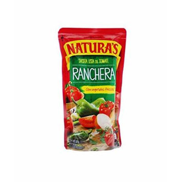 Naturas Salsa de Tomate Ranchera con Vegetales frescos / Tomato Sauce Ranchera with Fresch Vegetables 227g - 12 Pack