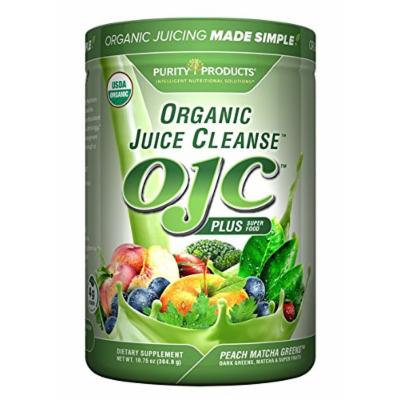 OJC - Matcha Peach Greens - Certified Organic Juice Cleanse