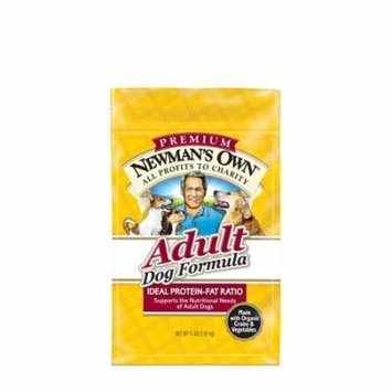 Newman's Own Adult Dog Food Formula chicken 4-Pound Bags (Pack of 3)