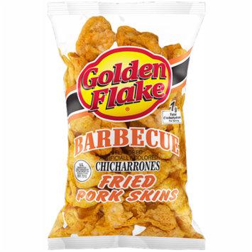 Golden Flake Snack Foods Barbecue Flavored Fried Pork Skins 3.25 oz. Bag (6 Bags)