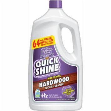 Quick Shine High Traffic Hardwood Floor Cleaner, 64 Oz