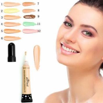 Quantity of 12 color POPFEEL Women Fashion Makeup Face Beauty Liquid Concealer Blemish Cream