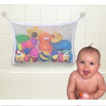 45*35cm Useful Durable Baby Kid Children Bath Toys Pouch Storage Net Mesh Bag