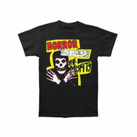 Misfits Men's Horror Business T-shirt Black