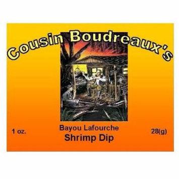 Cousin Boudreaux's Bayou Lafourche Shrimp Dip 28g (Pack of 3)