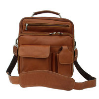 Piel Personalized Deluxe Leather Shoulder Bag