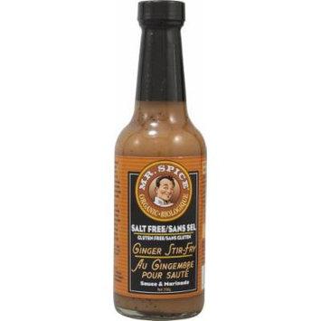 Mr Spice: Organic Salt Free Ginger Stir Fry Sauce 10.5 Oz (12 Pack)