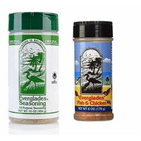 Everglades Seasoning 16 oz All Purpose 6oz Fish & Chicken Seafood Poultry BBQ Spices