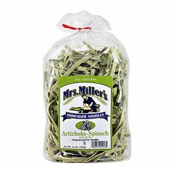 Mrs. Millers Artichoke-Spinach Noodles 14 oz. Bag (3 Bags)