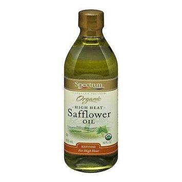 Spectrum Naturals Refined Safflower Oil 16 Oz (Pack of 3) - Pack Of 3