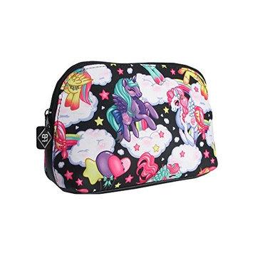 Liquorbrand Pegasus Unicorns Rainbow Travel Make-up Cosmetic Wash Bag Pouch